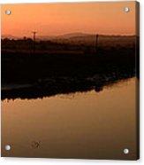 Sunrise Milltown Acrylic Print