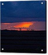 Sunrise N Clouds Acrylic Print