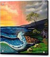 Sunrise Ocean Acrylic Print