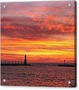 Sunrise Of Hope Acrylic Print