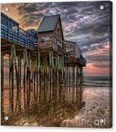 Sunrise Old Orchard Beach Acrylic Print