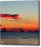 Sunrise On A Cloudy Morn Acrylic Print