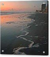 Sunrise On Daytona Acrylic Print