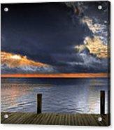 Sunrise On Key Islamorada In The Florida Keys Acrylic Print