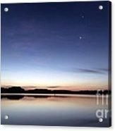 Sunrise On Lake Lanier Acrylic Print
