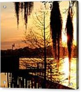 Sunrise On Lake Weir - 7 Acrylic Print