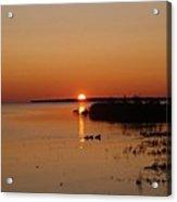 Sunrise On Mackinaw Acrylic Print
