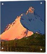 1m5306-sunrise On Mt. Washington Acrylic Print