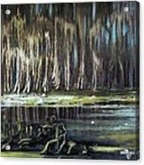 Sunrise On The Bayou Acrylic Print