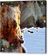 Sunrise On The Cliff Acrylic Print