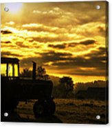 Sunrise On The Deere Acrylic Print