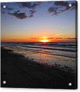 Sunrise On The Gulf Acrylic Print