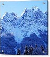Sunrise On The Alps Acrylic Print
