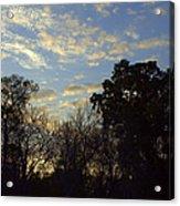 Sunrise On The River Acrylic Print