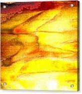 Sunrise On The Steps Of Heaven Acrylic Print