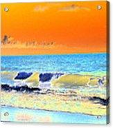 Sunrise On Tybee Island - Photopower 168 Acrylic Print