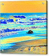Sunrise On Tybee Island - Photopower 169 Acrylic Print