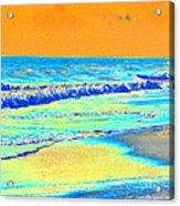 Sunrise On Tybee Island - Photopower 170 Acrylic Print