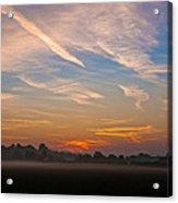 Sunrise Over Bartonsham Acrylic Print