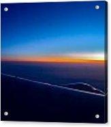 sunrise over California Acrylic Print