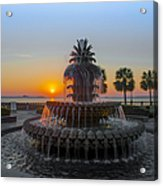 Sunrise Over Charleston Acrylic Print