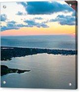 Sunrise Over Dewey Beach Acrylic Print