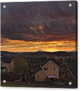 Sunrise Over Happy Valley Acrylic Print