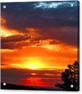 Sunrise Over Keystone Acrylic Print