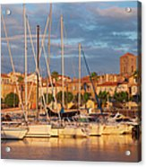 Sunrise Over La Ciotat France Acrylic Print