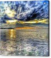 Sunset Over Lake Ontario Acrylic Print
