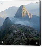 Sunrise Over Machu Picchu Acrylic Print