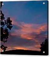 Sunrise Over Mammoth Campground Acrylic Print