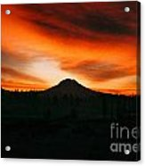 Sunrise Over Mt. Rainier 3m Acrylic Print