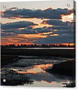 Sunrise Over Point Pelee Provincial Park Acrylic Print