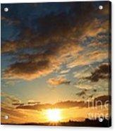 Sunrise Over Port Angeles Acrylic Print