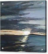 Sunrise Over Siguijor Acrylic Print