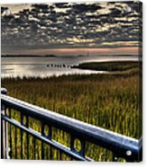 Sunrise Over The Cooper River Acrylic Print