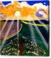 Sunrise Over The Darren Acrylic Print
