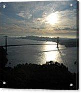 Sunrise Over The Golden Gate Acrylic Print