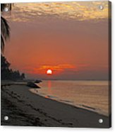 Sunrise Over The Horizon Acrylic Print