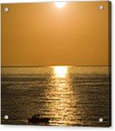 Sunrise Over The Mediterranean Acrylic Print