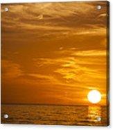 Sunrise Over The Sea Of Cortez Acrylic Print