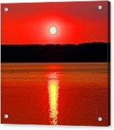Sunrise Over Whidbey Island Acrylic Print
