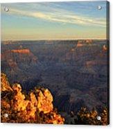 Sunrise Over Yaki Point At The Grand Canyon Acrylic Print