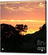 Sunrise Scenery Acrylic Print