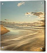 Sunrise Surf Acrylic Print