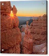 Sunrise Thor's Hammer 2010 Acrylic Print