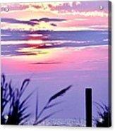 Sunrise Through The Dunes Acrylic Print