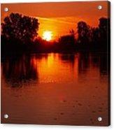 Ottawa River Sunrise Acrylic Print