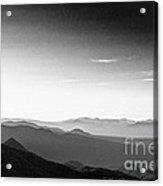 Sunrise White Mtns II Acrylic Print